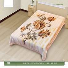 Hot-sale low price bedding knit blankets