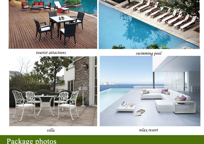 Garden Outdoor furniture, PE Rattan Outdoor Furniture