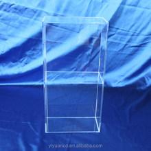 Acrylic cosmetic store display stand shelf/acrylic display shelf/acryic shelf display box