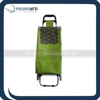 Green trolly shopping ECO friendly pvc trolly bag waterproof shopping bag trolly