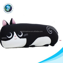 Animal shaped EN71standard plush animal tube cushion