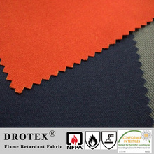 EN 61482-1-1 Test Method A, More Than 8Cal Sateen Cotton Arc Proof Fire Retardant Fabric