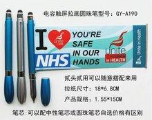 2015 Valin Pen Promotional Banner Pen / Plastic Ballpoint Pen with Lowest Factory Price