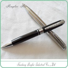 Elegant ball pen promotional heavy smooth metal writing ball promotional wholesale ball pen