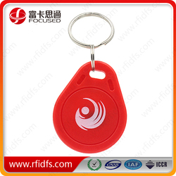13.56mhz and 125khz high quality key rings fobs
