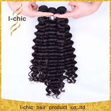 mongolian virgin hair grade virgin weaving 100% human hair deep wave