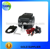 China factory marine hand winch manual hand anchor winch boat electric hand winch 3500lbs