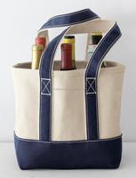 Canvas wine bag