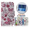 For LG G2 MINI /D620 Butterfly & Flower Pattern Flip Stand Wallet Leather Case Cover