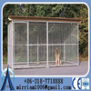2015 new hot dip galvanized cheap big dog kennel, high quality durable welded wire large dog kennel