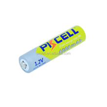 PKCELL 4pcs of blister card of 1.2v ni mh aaa 900mah rechargeable battery