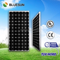 Bluesun hot sale home system portable 12v 180w solar panel