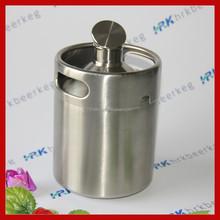 Steel Material Barrel Packaging 2 liter beer keg prices