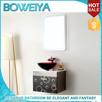 New Products 2015 Colorful Western Cheap Single Bathroom Vanity