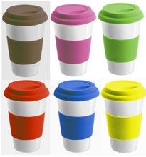 FDA/LFGB Food Grade Silicone Coffee Cup