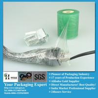 pvc cable wrapper film blue asia