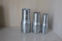 Galvanized Carbon Steel Pipe Fitting ,Reducing hose nipple,Male thread pipe nipple