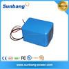 deep cycle rechargeable ebike/children car 24v 10ah li ion battery pack
