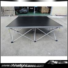 Factory wholesale 4'*4' stage platform with Guardrail, aluminum stage platform