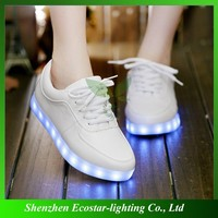 Novelty light up glowing shoes for women