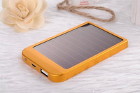 2600mAH Universal solar power bank, external power bank for iphone/samsung mobilephone