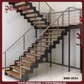 escalera de metal largueros escalera plegable