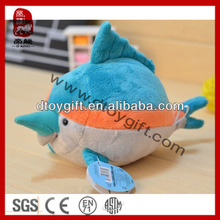 High quality plush kid toy stuffed animal toys birthday sport football baseball mascot plush dolphin wholesale