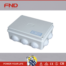 NEW pvc waterproof underground electrical junction box with cable glands