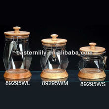 BPA free Plastic Acrylic Air tighted canister