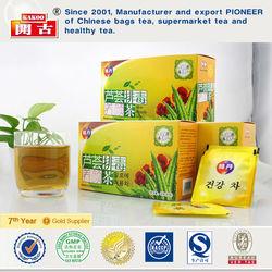 Korea elixir herbal natural tea herbal aloe beauty detox tea