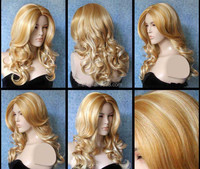 FW-0037 Wholesale daily ladies natural synthetic hair wig / fashion wig