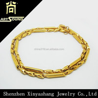 factory men fashion gold chain jewelry from china