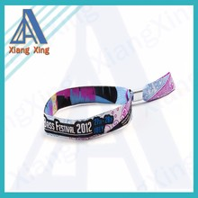 BSCI Approved Factory Direct Wholesale Custom Polyester Lanyard woven wristbands With Any Logo