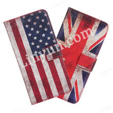 Flags style leather case for iphone 6, phone cover case for iphone 6