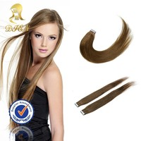 No shedding tangling free honey blonde body wave brazilian human hair extensions,tape hair extensions for white women