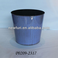 plastic flower pot painting designs for wholesales