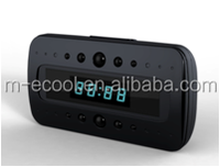 Monitoring devices enquipment high resolution clock shape hidden micro Camera