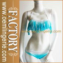las mujeres de la nueva manera de la llegada del bikini franja
