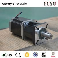 high precision 4 or 6 wires planetary gearbox nema 23 geared stepper motor