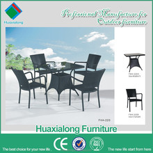 Most popular Square table with 4 seater fasional new design and good quality dining set item no FWA-220