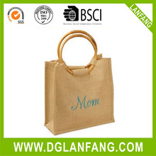 Exporter of jute bags wholesale with customized zipper
