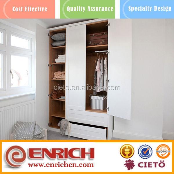 Color Combination Melamined Wardrobe Door Laminate Design