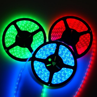 CE&RoHS 12V 60leds Waterproof Flexible LED Strips light SMD 5050 RGB