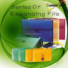 Decorative expanding File folder Vertical expanding file