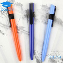 Plastic beautiful different color chinese writing pens for wholesale