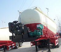 China produced high quality 12 cbm air compressor for cement tanker trailer