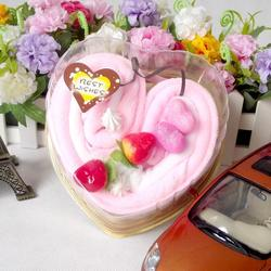 fast drying cheap ice cream cake towel made in China