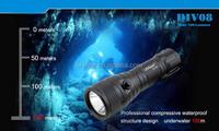 Brinyte DIV08 diving flashlight underwater 200 meters