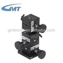 Gmt XYZ eje de la cremallera y piñón tipo lineal de posicionamiento de cola de milano de la etapa