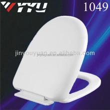 1049 asientos de inodoro ; 1250 g Material PP Slow Down agua de baño Closet asiento del inodoro tapa tapas